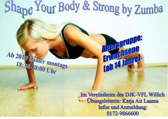 Strong by Zumba & Body Shape mit Katja